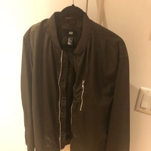 H&M | Men's | Nylon Bomber | L